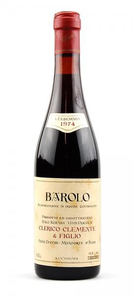 Wein 1974 Barolo Clemente Clerico & Figlio