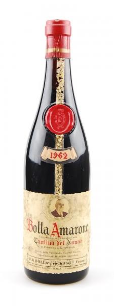 Wein 1962 Amarone Bolla Cantina dell Nonno