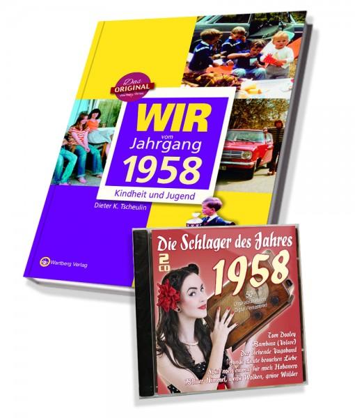 Zeitreise 1958 - Wir vom Jahrgang & Schlager 1958