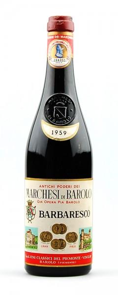 Wein 1959 Barbaresco Marchesi di Barolo