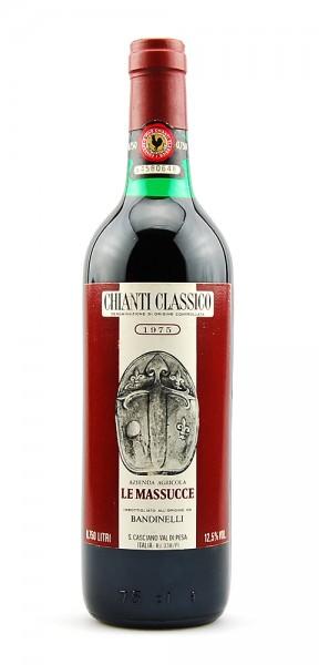 Wein 1975 Chianti Classico Le Massucce
