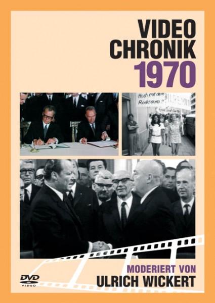 DVD 1970 Chronik Deutsche Wochenschau in Holzkiste