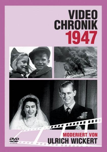 DVD 1947 Chronik Deutsche Wochenschau in Holzkiste