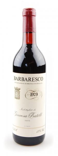 Wein 1979 Barbaresco Giovanni Giacosa