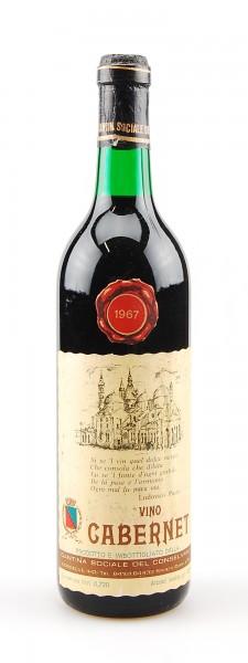 Wein 1967 Cabernet Cantina Sociale del Conselvano
