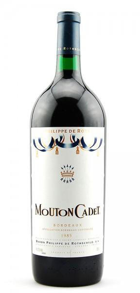 Wein 1985 Mouton-Cadet Baron Philippe de Rothschild