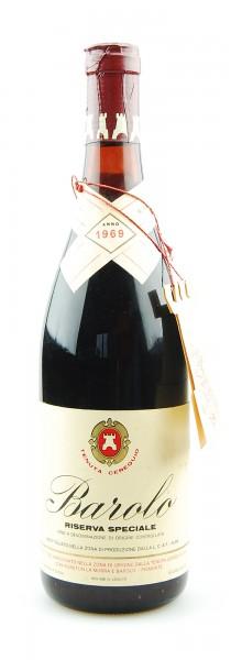 Wein 1969 Barolo Tenuta Cerequio Riserva Speciale