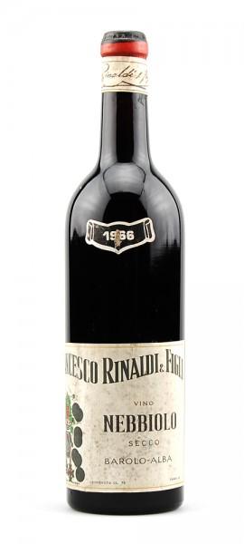 Wein 1966 Nebbiolo Francesco Rinaldi