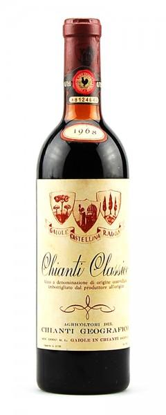 Wein 1968 Chianti Classico Geografico