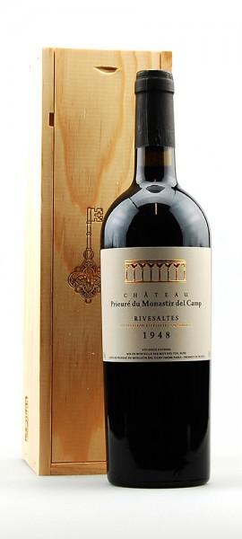 Wein 1948 Rivesaltes Chateau Prieuré du Monastir