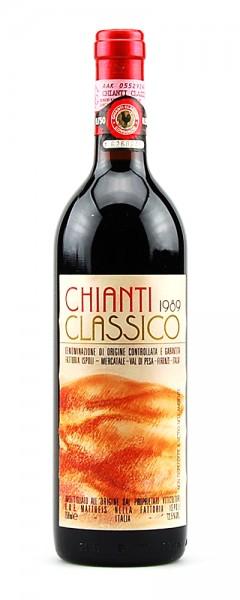 Wein 1989 Chianti Classico Fattoria Ispoli