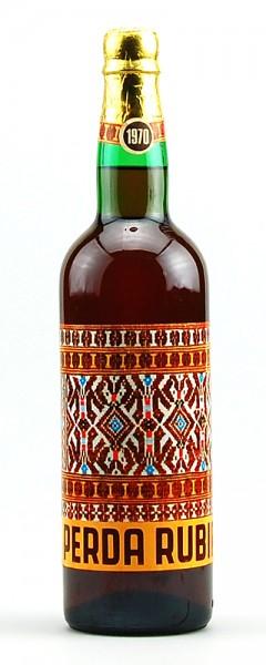 Wein 1970 Perda Rubia Mario Mereu