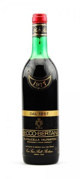 Wein 1977 Valpolicella Valpantena Secco-Bertani