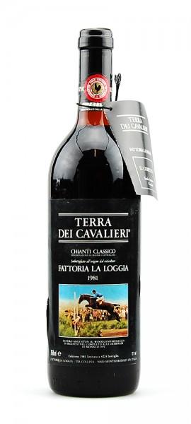 Wein 1981 Chianti Classico Fattoria La Loggia III