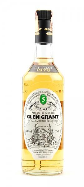 Whisky 1978 Glen Grant Highland Malt 5 years old