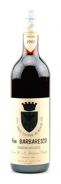 Wein 1967 Barbaresco P. Toso - Stefano Belbo