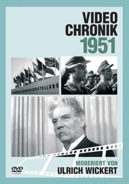 DVD 1951 Chronik Deutsche Wochenschau in Holzkiste