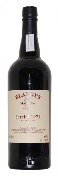 Madeira 1974 Blandy's Sercial
