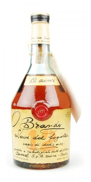 Brandy 1977 Camel Fogolar Riserve 12 ains