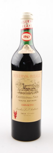 Wein 1947 Orvieto Riserva Castello della Sala Antinori