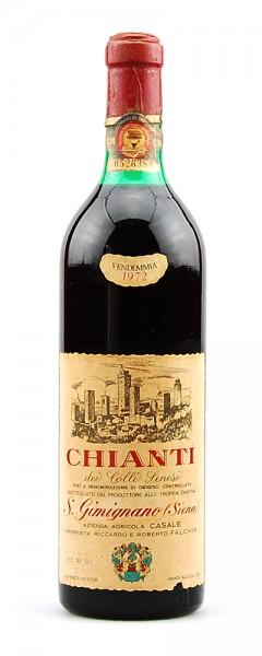 Wein 1972 Chianti dei Colli Senesi Casale Falchini