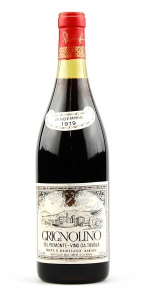 Wein 1979 Grignolino del Piemonte Damilano