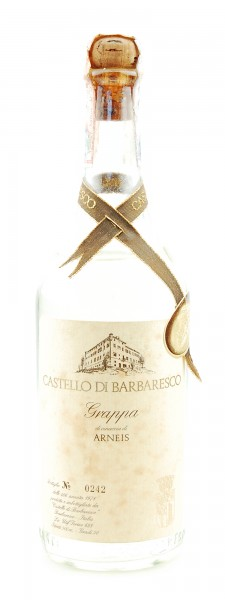 Grappa 1978 Arneis Castello di Barbaresco