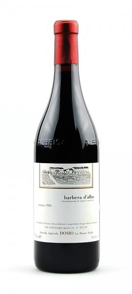 Wein 1986 Barbera d´Alba Dosio La Morra
