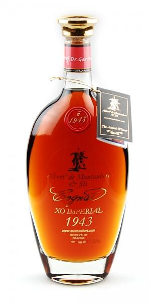 Cognac 1943 Albert de Montaubert XO Imperial