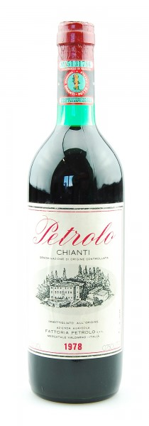 Wein 1978 Chianti Petrolo