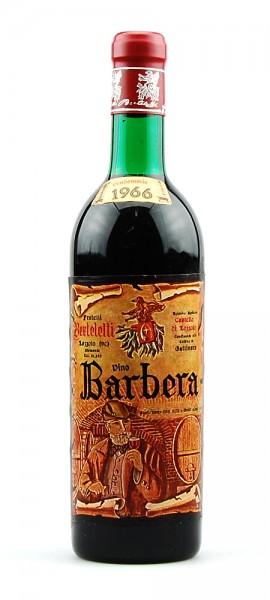Wein 1966 Barbera Berteletti Castello di Lozzolo