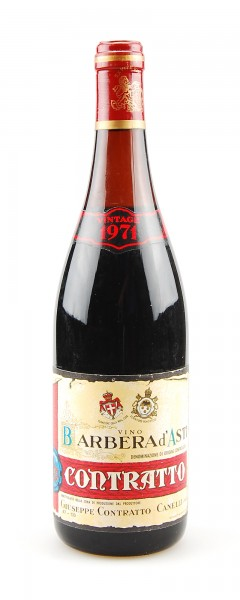 Wein 1971 Barbera d´Asti Giuseppe Contratto