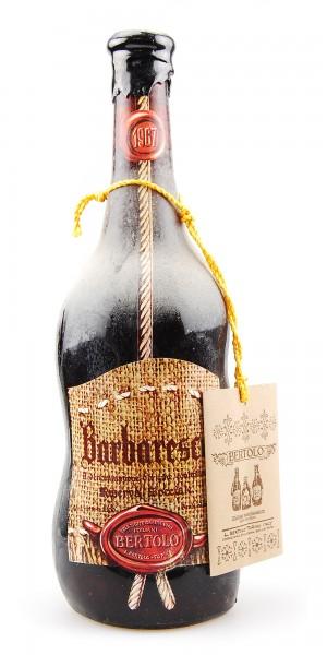 Wein 1967 Barbaresco Bertolo Riserva Speciale 2,1 Liter
