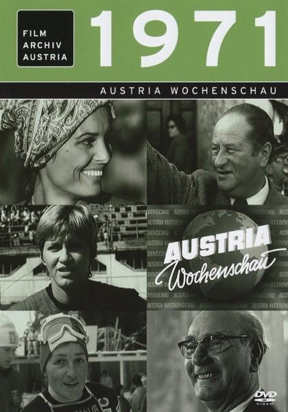 DVD 1971 Chronik Austria Wochenschau in Holzkiste