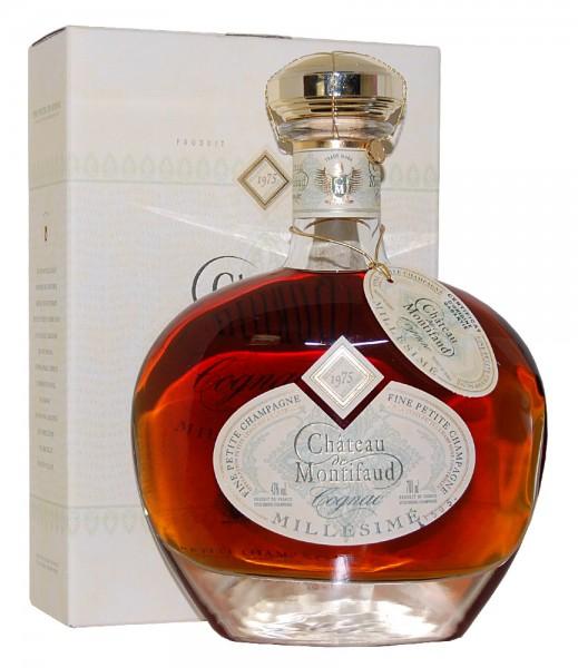 Cognac 1975 Chateau Montifaud Petite Champagne
