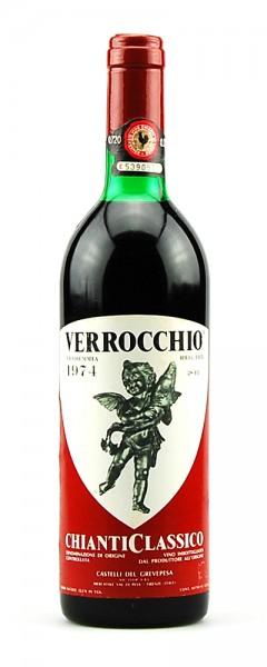 Wein 1974 Chianti Classico Castelli del Grevepesa