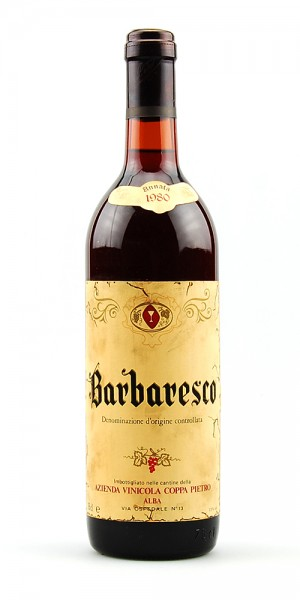Wein 1980 Barbaresco Pietro Coppa