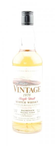 Whisky 1978 Balmenach Single Malt Scotch Whisky