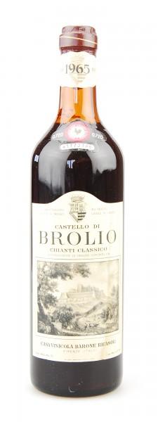 Wein 1965 Chianti Classico Brolio Ricasoli