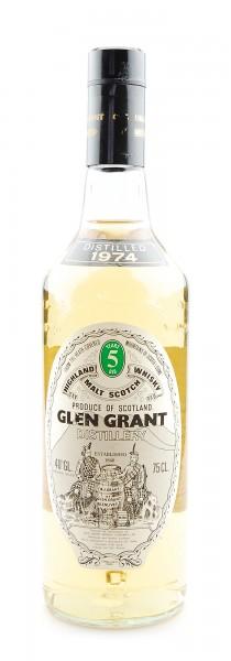 Whisky 1974 Glen Grant Highland Malt 5 years old