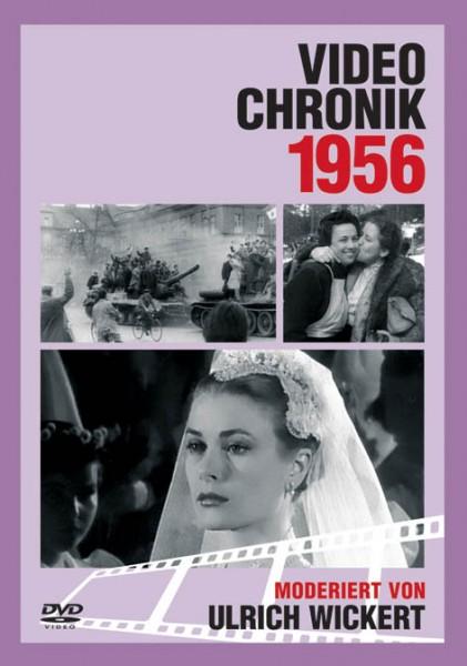 DVD 1956 Chronik Deutsche Wochenschau in Holzkiste