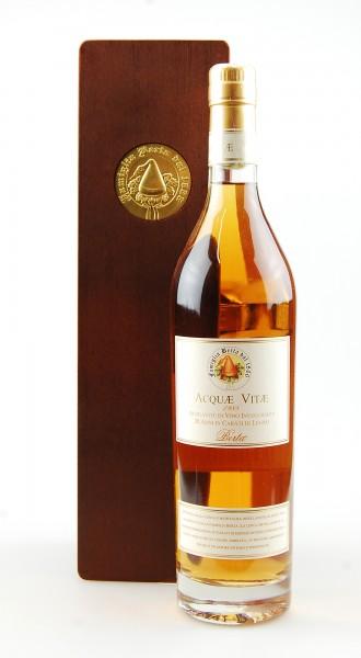 Grappa 1988 Acquavite di Vino Berta Invecchiato