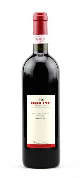 Wein 1996 Chianti Classico Riecine