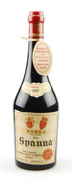 Wein 1967 Spanna Riserva Guido Barra