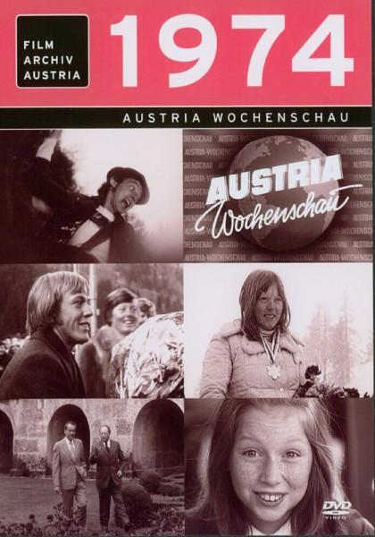 DVD 1974 Chronik Austria Wochenschau in Holzkiste
