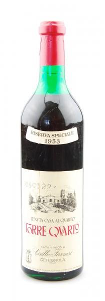 Wein 1953 Torre Quarto Riserva Speciale Farrusi