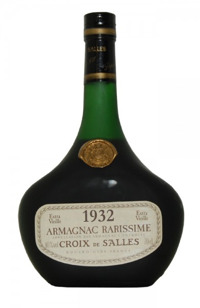Armagnac 1932 Croix de Salles