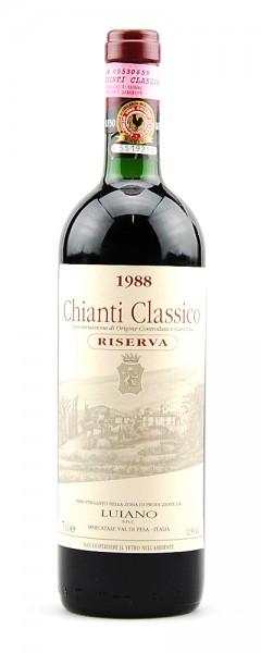 Wein 1988 Chianti Classico Luiano Riserva