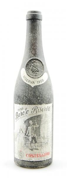 Wein 1958 Barolo Riserva Castellana