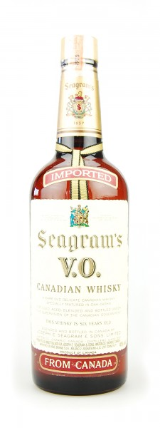 Whisky 1975 Seagram´s V.O. Canadian Whisky